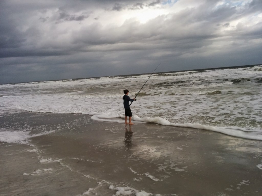 Fishing from the beach - Surf Casting